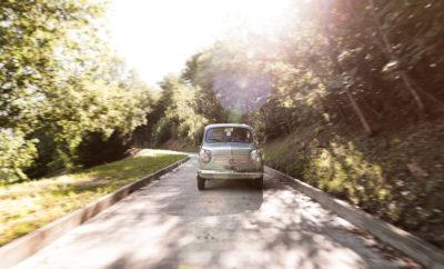 Una Fiat 600 in Franciacorta: è l'auto che ha motorizzato il Paese - VitadiStile
