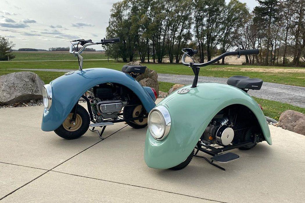 Volkspod, lo scooter che ricicla pezzi dei Maggiolini Volkswagen