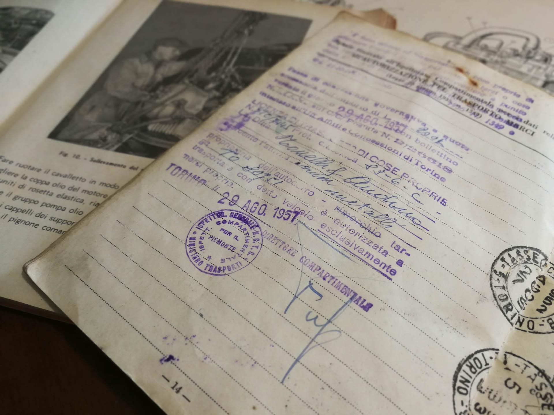 Documento unico, la svolta per i vecchi libretti - Ruoteclassiche